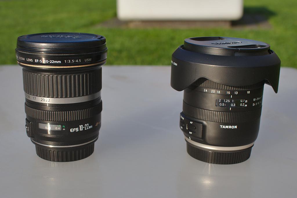 Der Weitwinkel-Objektiv Vergleich für Canon APS-C Kameras